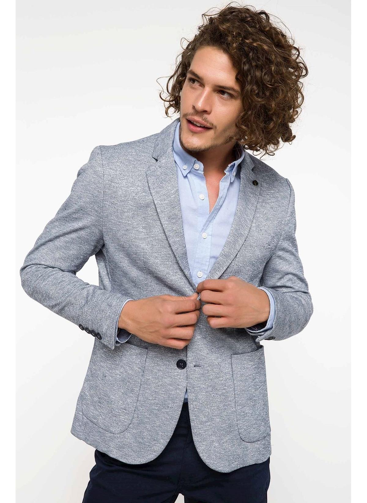 Defacto Slim Fit Blazer Ceket I4161az18spın75 Ceket – 159.99 TL